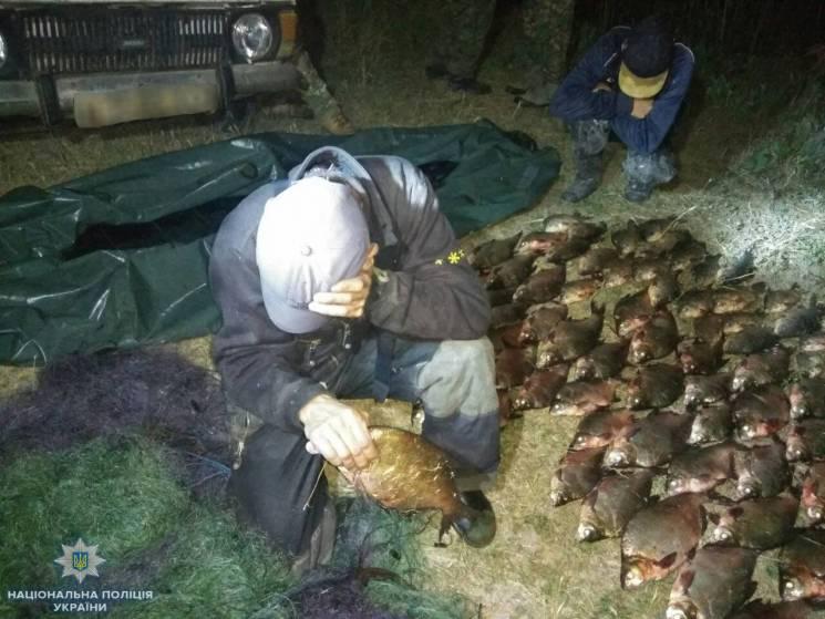 У Херсоні бракон'єри наловили риби на 23 тисячі