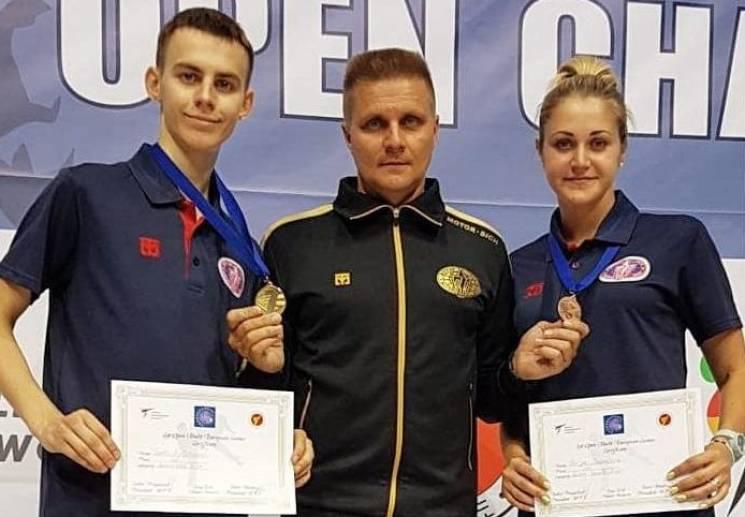 Запорізькі тхеквондисти здобули комплект нагород міжнародного турніра (ФОТО)