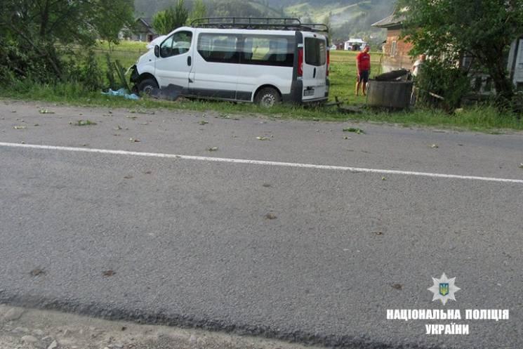 На Прикарпатті в ДТП загинув житель Хмельниччини
