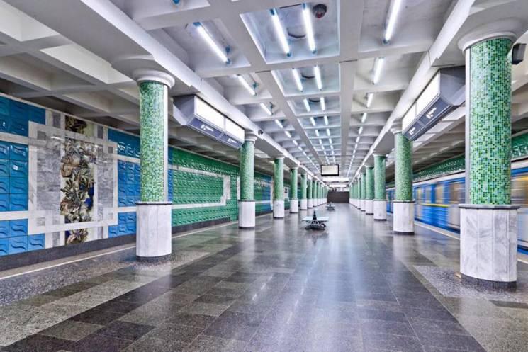 У харківській підземці зупинилися потяги