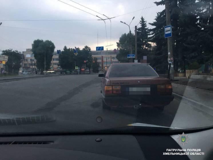 """У Хмельницькому затримали водія """"під кайфом"""""""