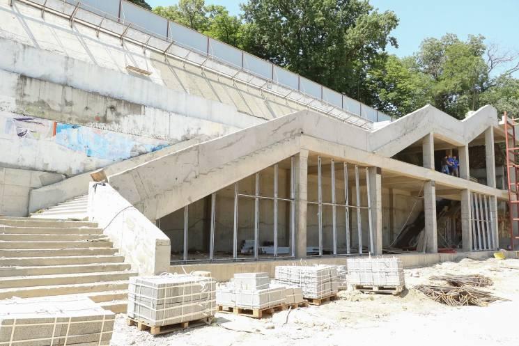 В мерії розповіли, як тривають роботи у Грецькому парку (ФОТО)