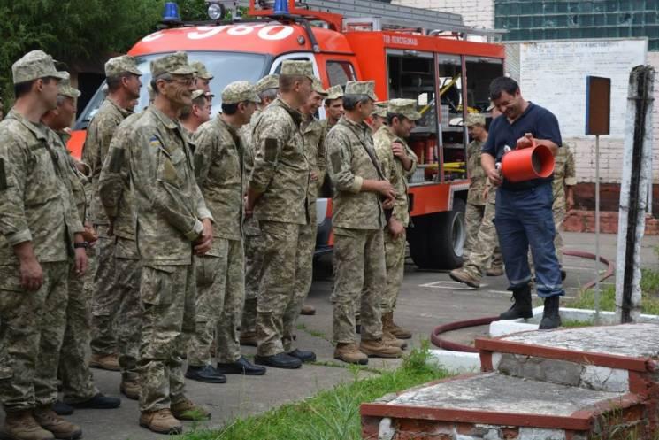 У Виноградові стартували навчальні збори батальйону тероборони (ФОТО)