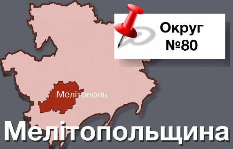 """Округ № 80: Хто посуне """"Опоблок"""" в Мелітополі"""