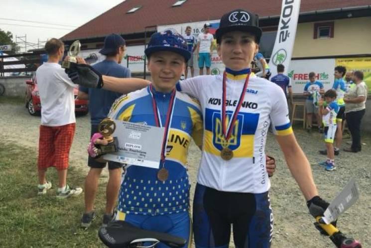 Харківські велосипедистки привезли золото зі Словаччини