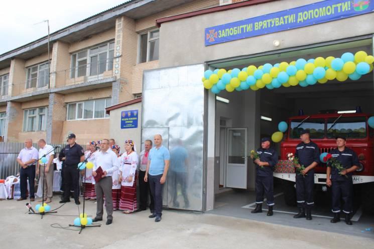 На Віньковеччині запрацювала нова місцева пожежна команда (ФОТО)