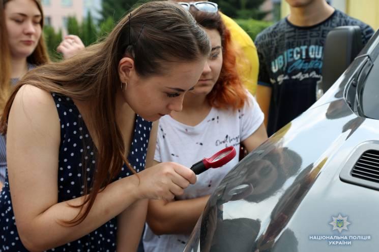 Вінницька поліція розповіла студентам свої секрети (ФОТО)