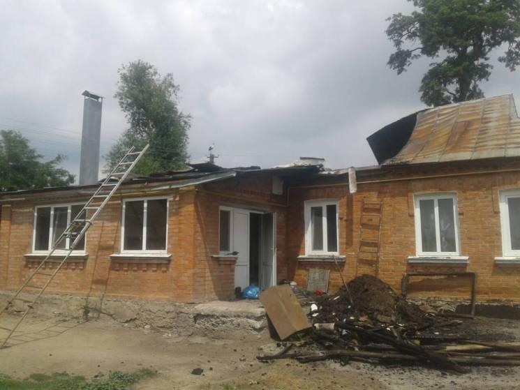 Сім'я на Вінниччині залишилася без даху над головою