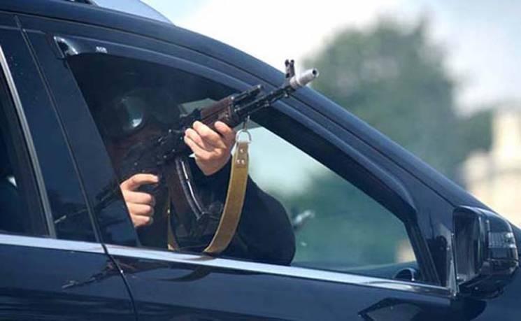 На Запоріжжі невідомі розстріляли автівку журналіста