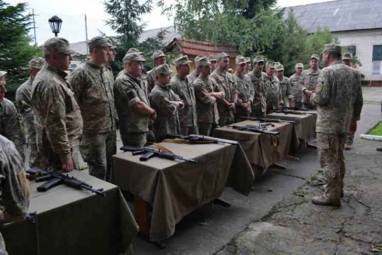 У Виноградові бійці батальону тероборони готуються до бойових стрільб (ФОТО)