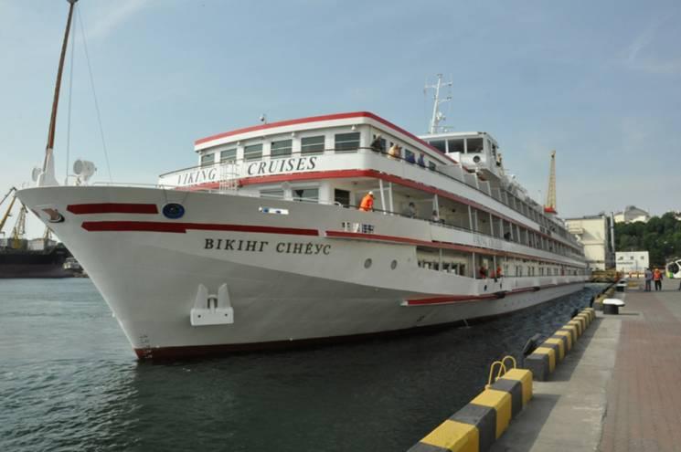 В одеському порту гостює туристичний теплохід