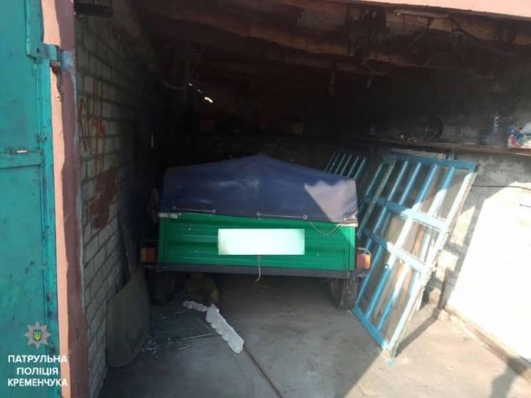 У Кременчуці з приватного подвір'я вкрали автопричіп