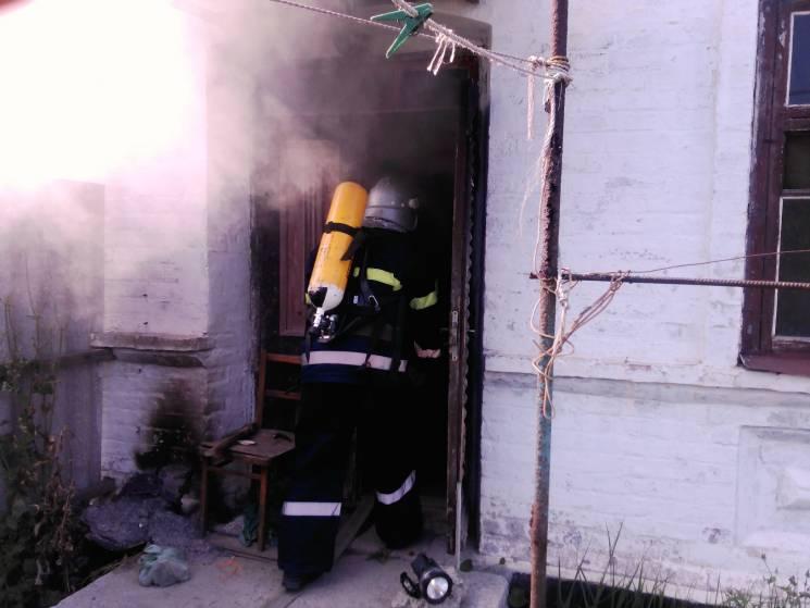 На херсонському курорті в пожежі загинула пенсіонерка