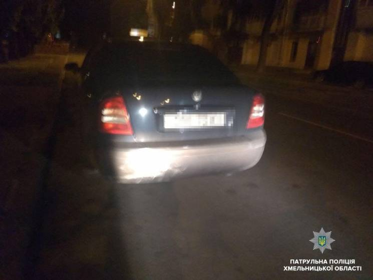 Тричі винен: У Хмельницькому спинили хронічного водія-п'яничку
