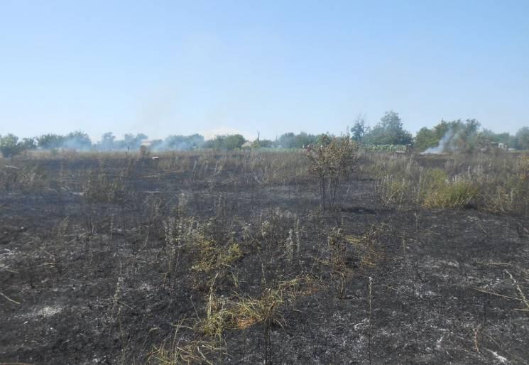 На Миколаївщині дитина спалила дві вулиці