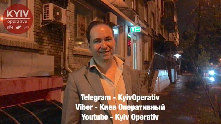 В Киеве поймали пьяного российского консула за рулем (ФОТО, ВИДЕО)