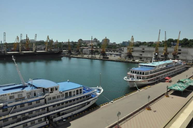"""До одеського порту завітала """"Принцеса Дніпра"""""""