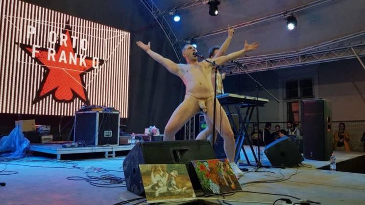 У Франківську після виступу голих рокері…