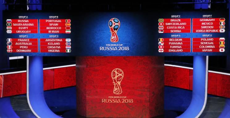 ЧС-2018: Результати та підсумкові таблиці російського мундіалю (ОНОВЛЮЄТЬСЯ)