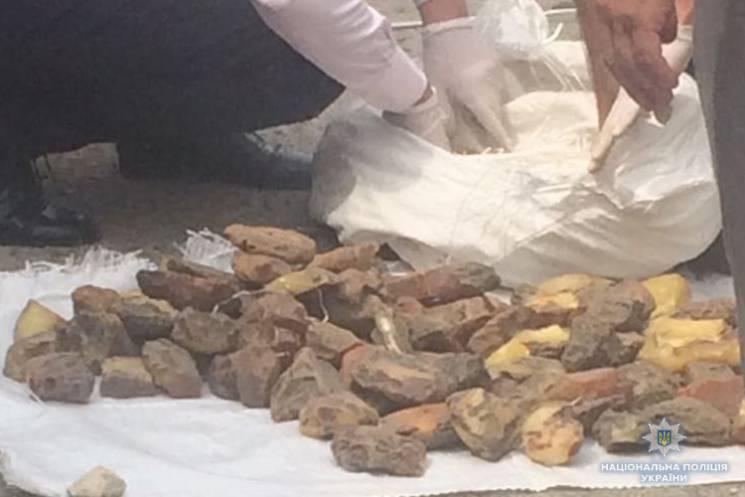 Практически 30 кг янтаря выявили тернопо…