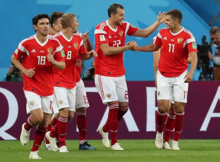 Сборные России и Уругвая первыми вышли в плей-офф ЧМ-2018