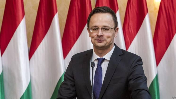 Голова МЗС Угорщини заявив, що в Україні ображають його співвітчизників