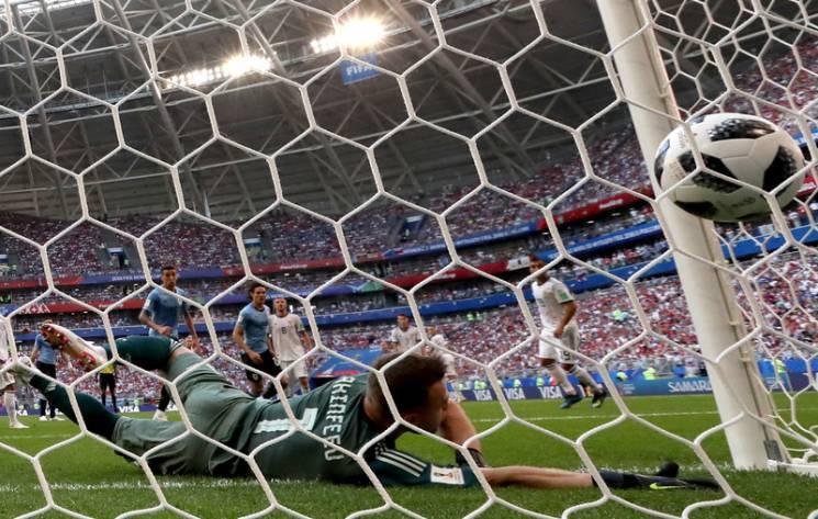 Росія без шансів програла Уругваю на домашньому ЧС-2018