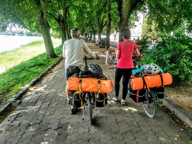 Подорожуємо біціглями по Карпатах