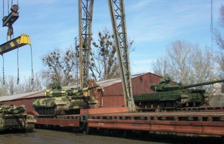 Нацгвардія отримала нову партію танків