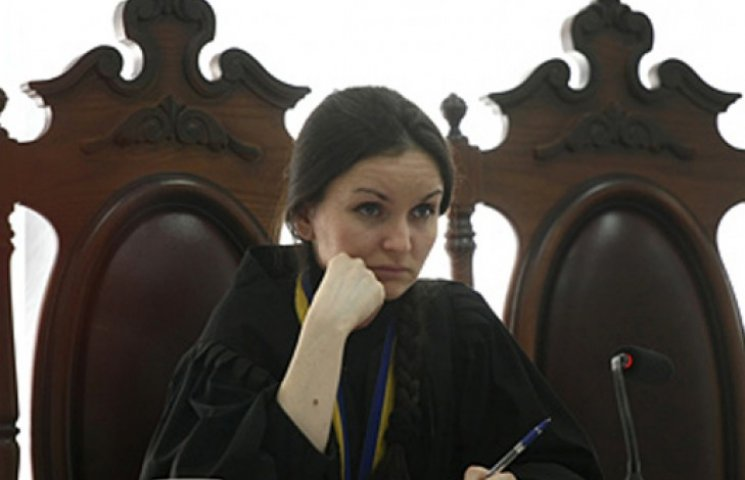Судья Печерского райсуда Оксана Царевич