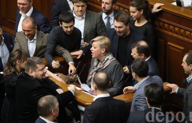 Нардепы сорвали выступление Гонтаревой в Раде