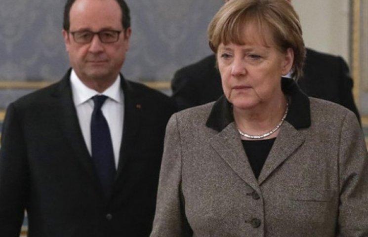 Ватажки терористів просять Меркель і Олланда запровадити санкції проти України