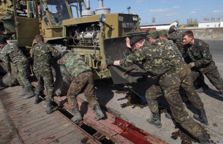 В Крыму остались более пяти тысяч украинских военных-предателей