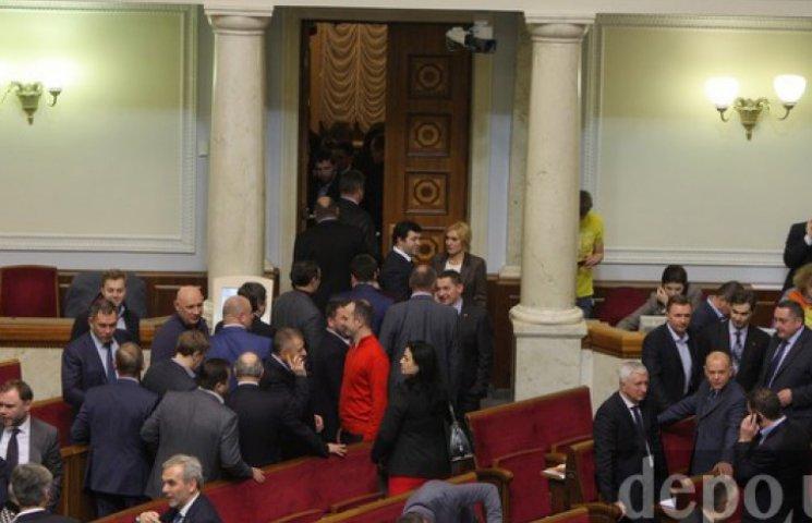 ВР знову перенесла початок засідання через голосування за «особливий» Донбас
