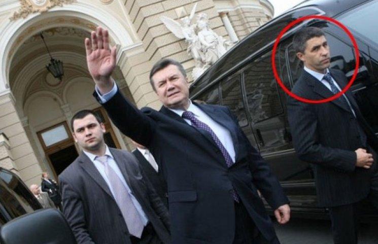Оголошений у розшук колишній головний охоронець Януковича