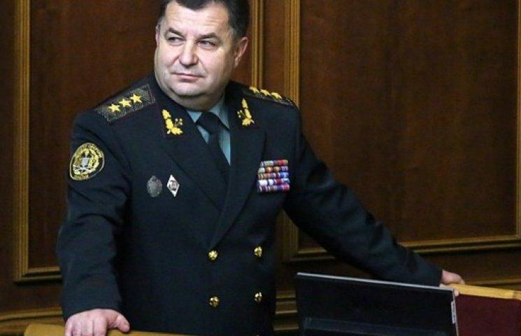 Полторак обіцяє за місяць збільшити чисельність армії до 250 тис. осіб
