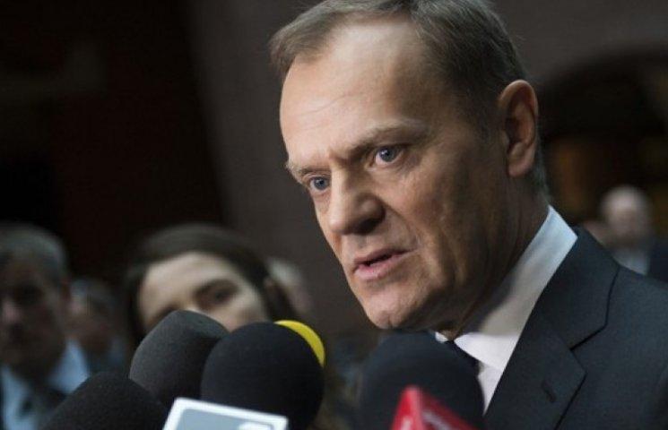 Туск: Поки не виконуються мінські домовленості, економічні санкції проти Росії діятимуть