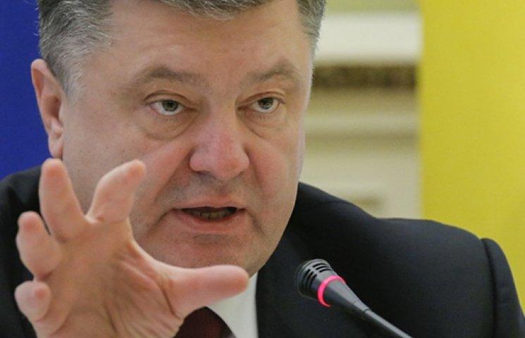 Порошенко оголосив догану Коломойському за неетичні матюки