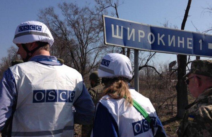Бойовики під Широкиним пригрозили спостерігачам ОБСЄ розстрілом