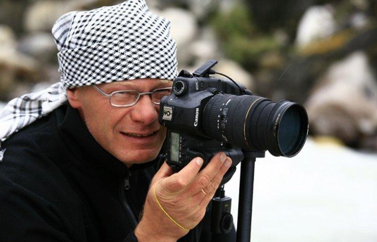 Известный украинский фотограф Сергей Тумасов представит новую фотовыставку