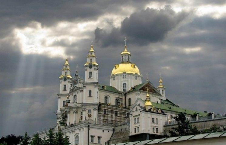 В Почаївській Лаврі пропагують ідеї Новоросії