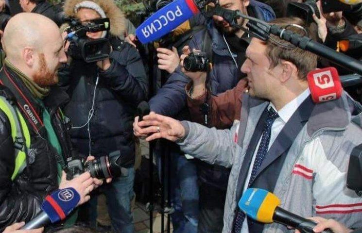 Як українські журналісти після вироку Савченко послали підлеглих Кисельова