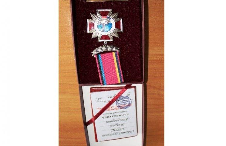 Кіборга з Волочиська нагородили за особливу мужність