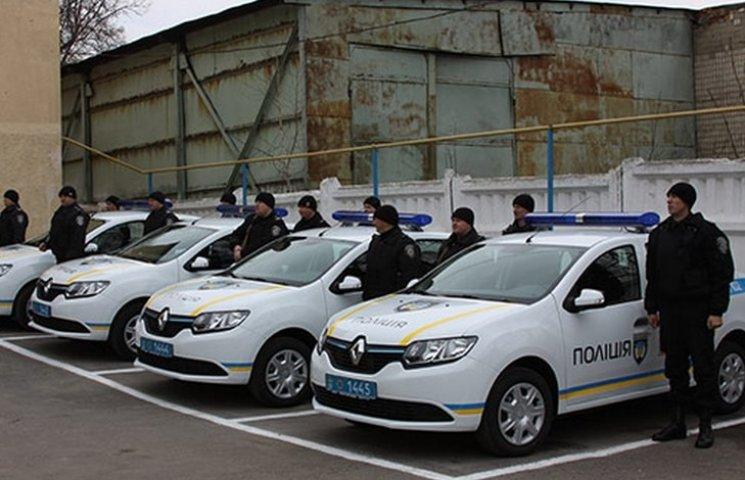Автопарк вінницької поліції збільшився на сім нових іномарок