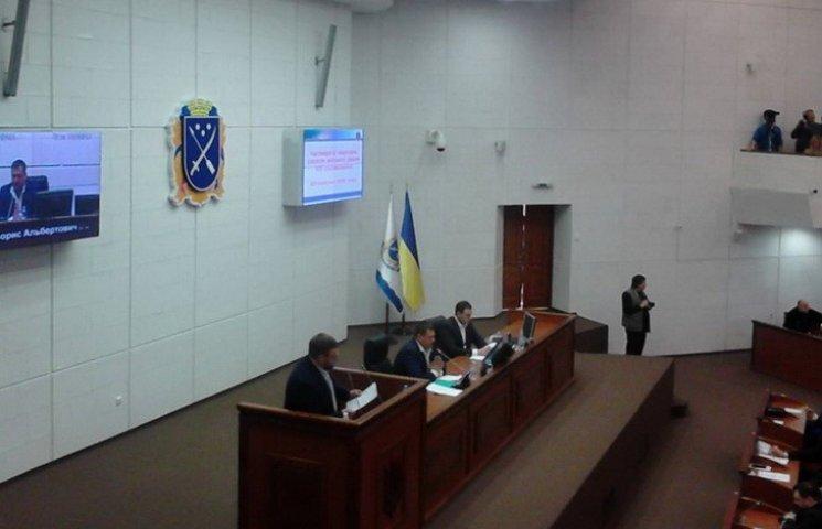"""У Дніпропетровську колеги з """"Опоблоку"""" зчепилися у сесійній залі"""
