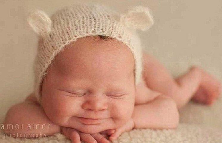 Фото немовляти з синдромом Дауна стало хітом соцмереж