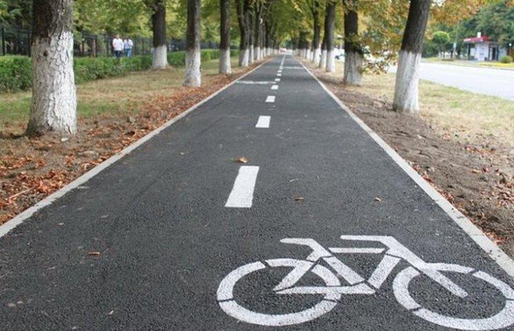 Цьогоріч у Вінниці побудують ще 20 кілометрів велодоріжок