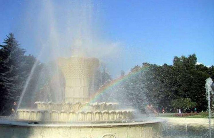 В квітні запрацюють всі вінницькі фонтани