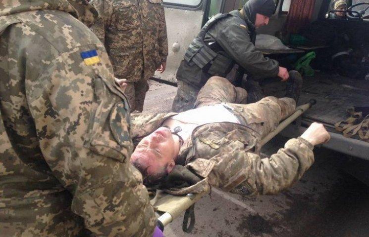 В АТО під час обстрілу важко поранили десантника