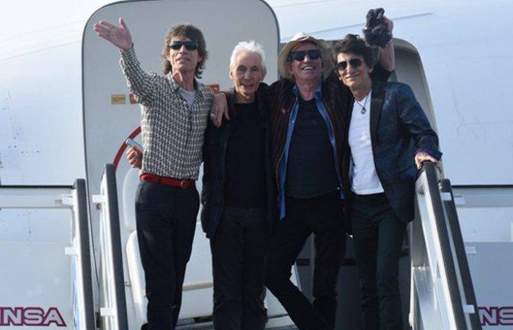 Rolling Stones прибули на Кубу, щоб дати безкоштовний концерт